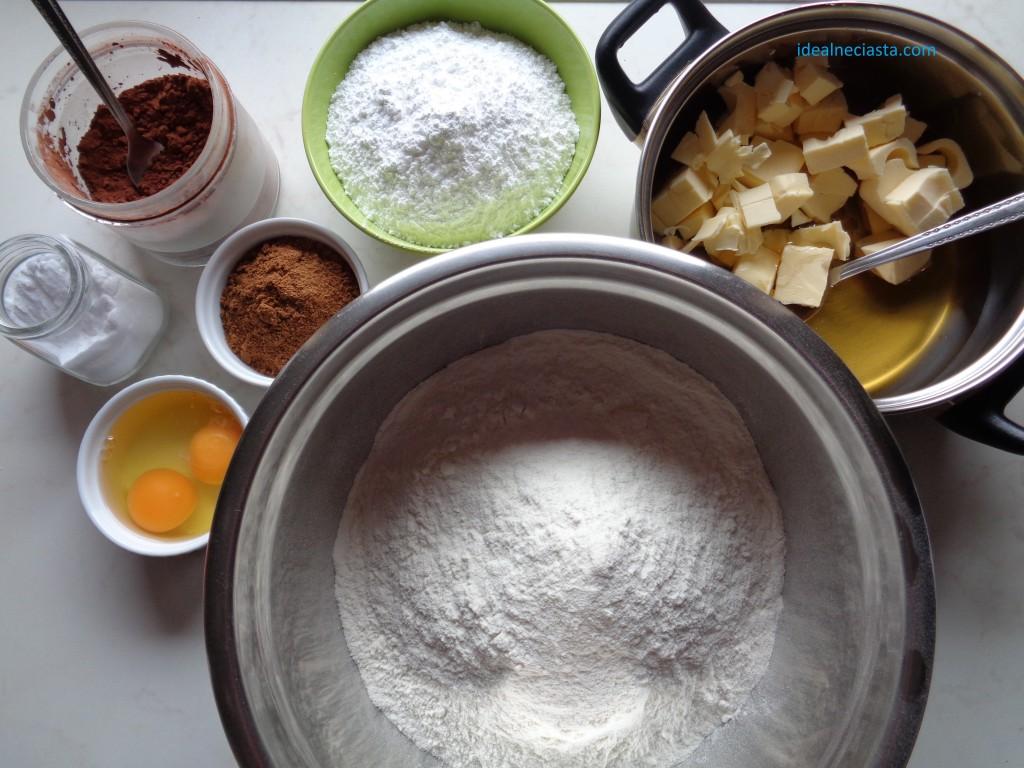 składniki na pierniczki
