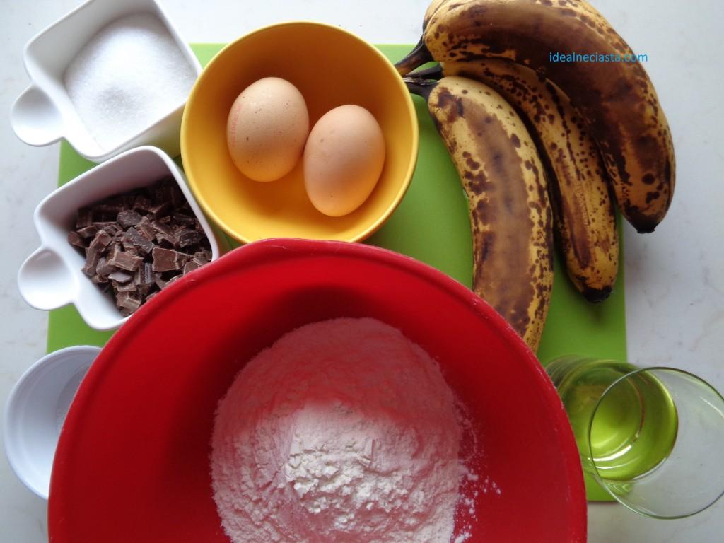bananowe muffinki składniki