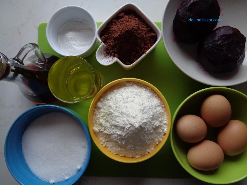 ciasto czekoladowe z burakami składniki