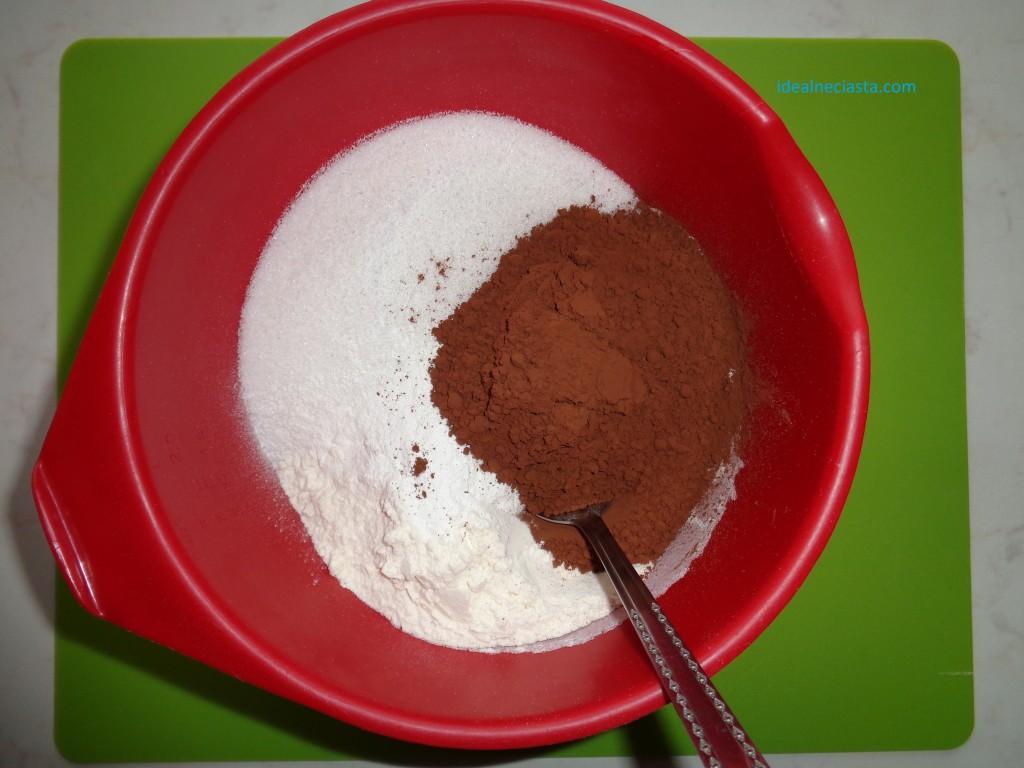 ciasto czekoladowe z burakami przygotowanie ciasta