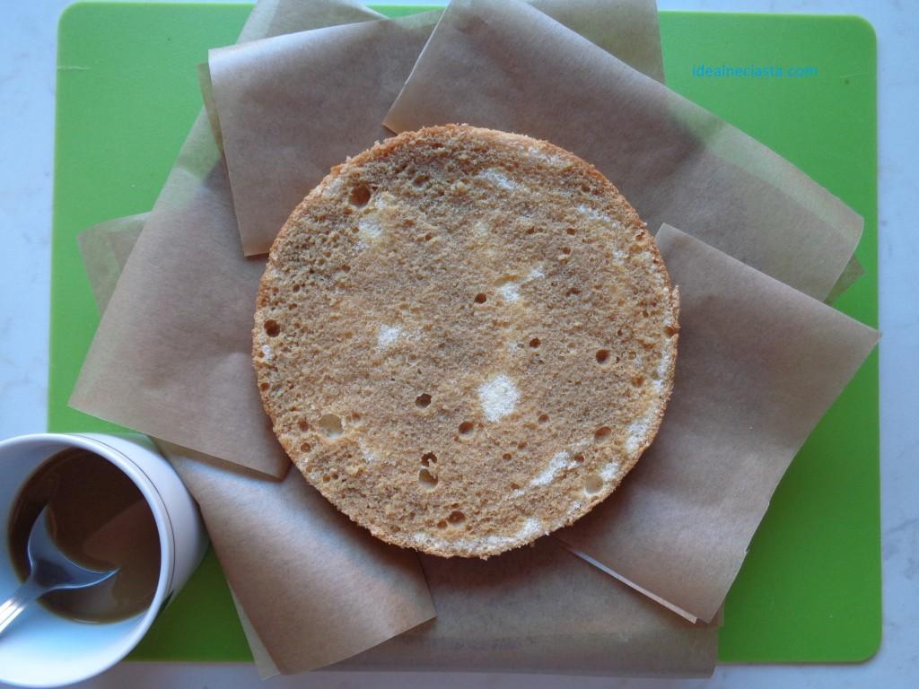 torcik kawowy składanie tortu