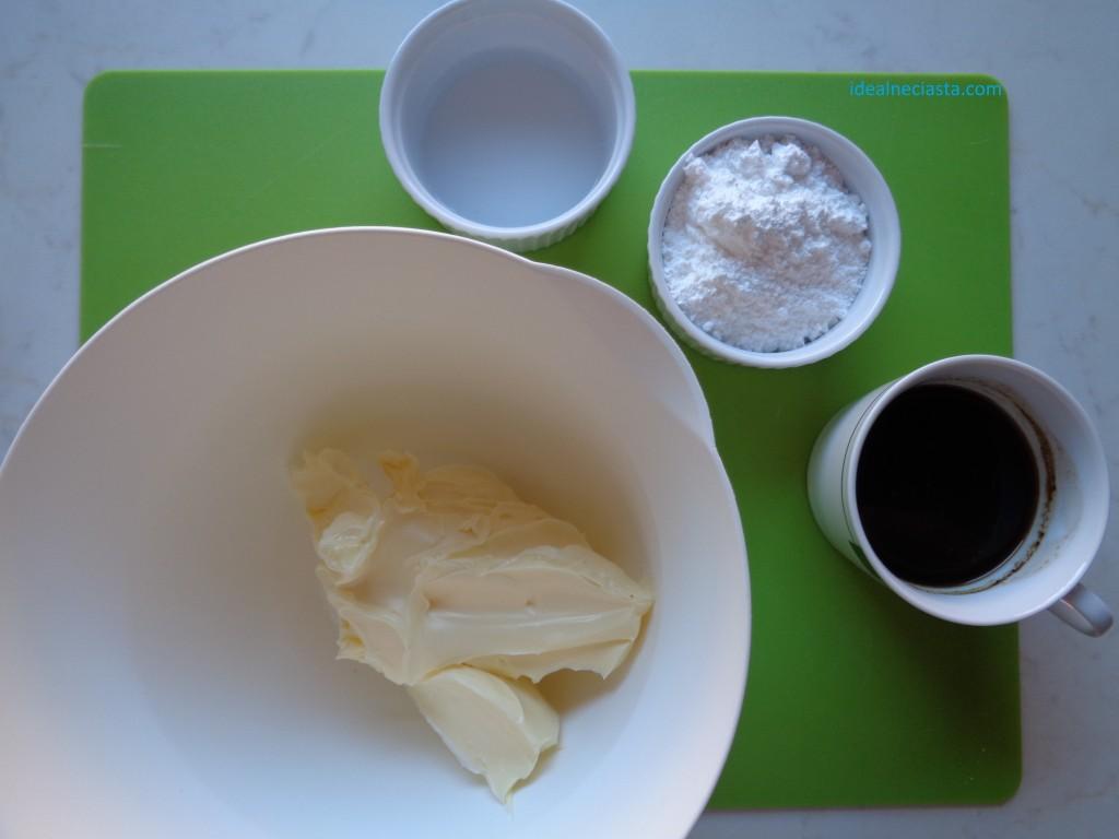 torcik kawowy składniki masy