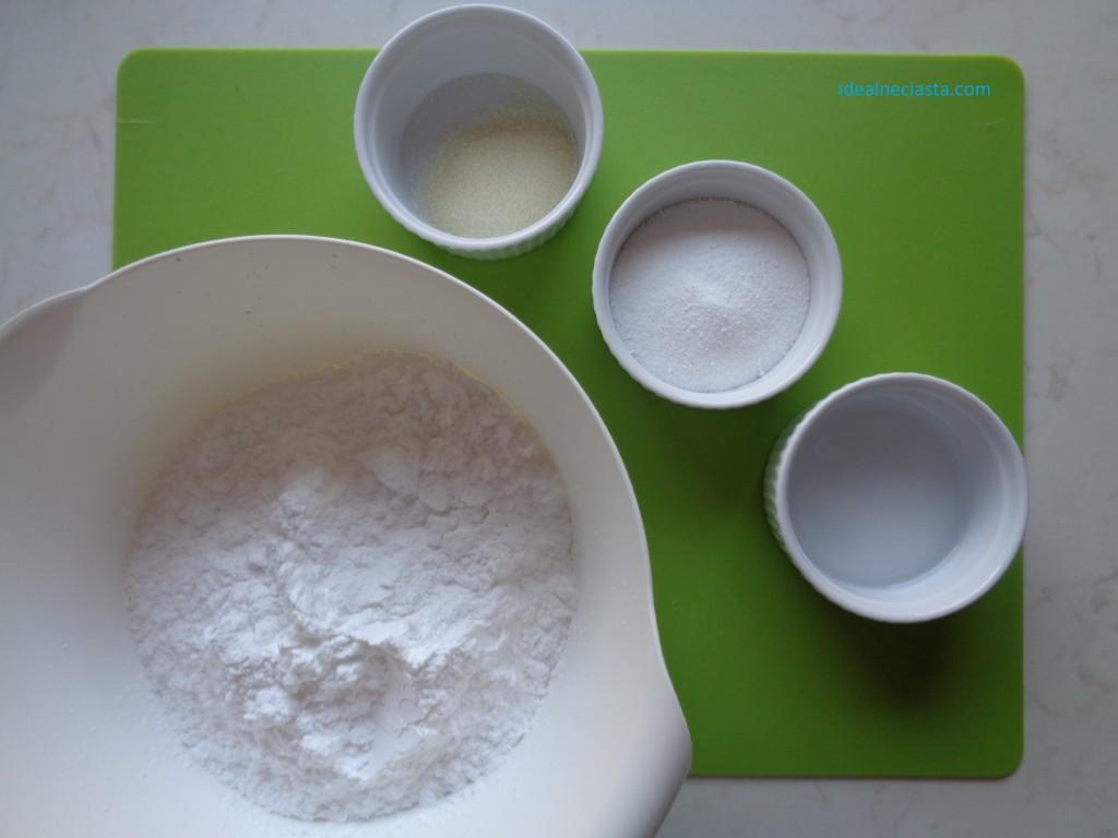 składniki na lukier plastyczny