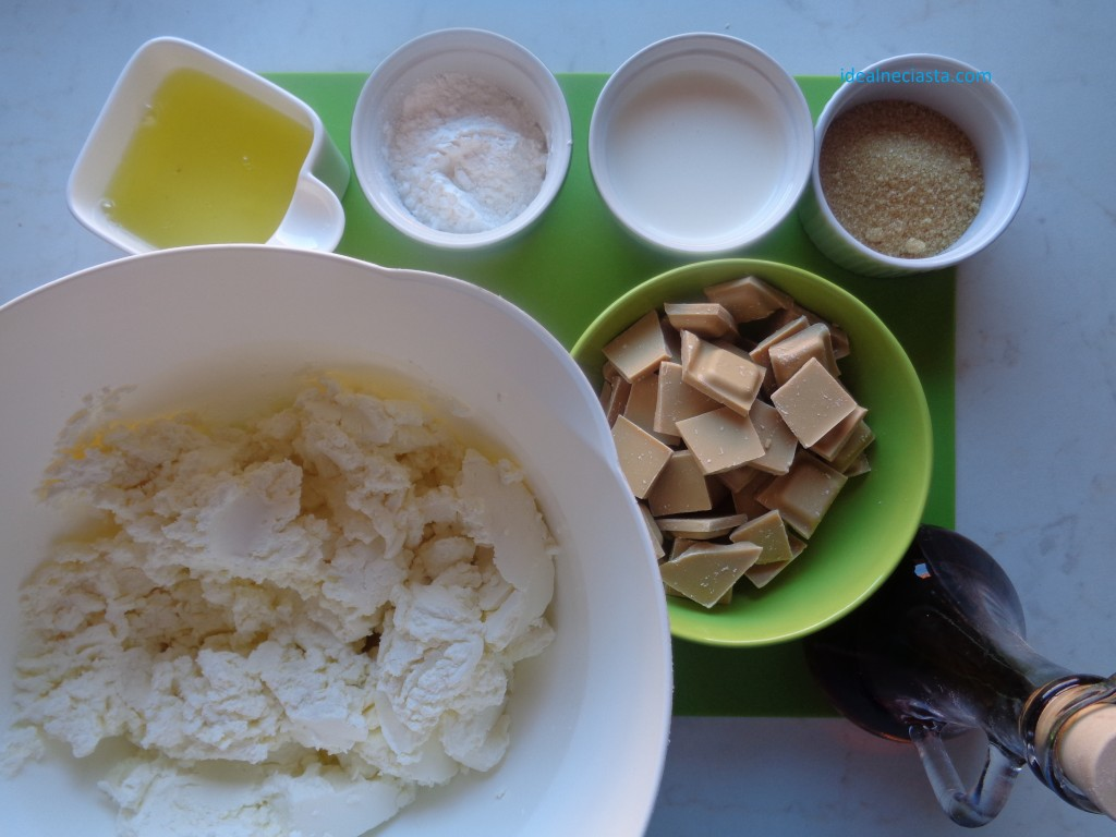 składniki masy serowej na sernik karmelowy