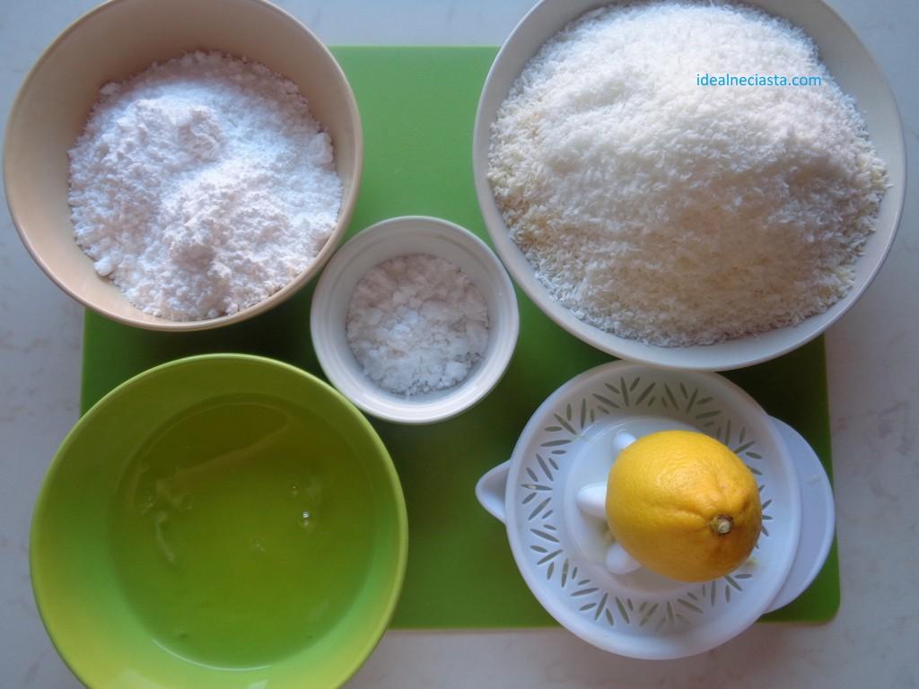 składniki na kokosanki