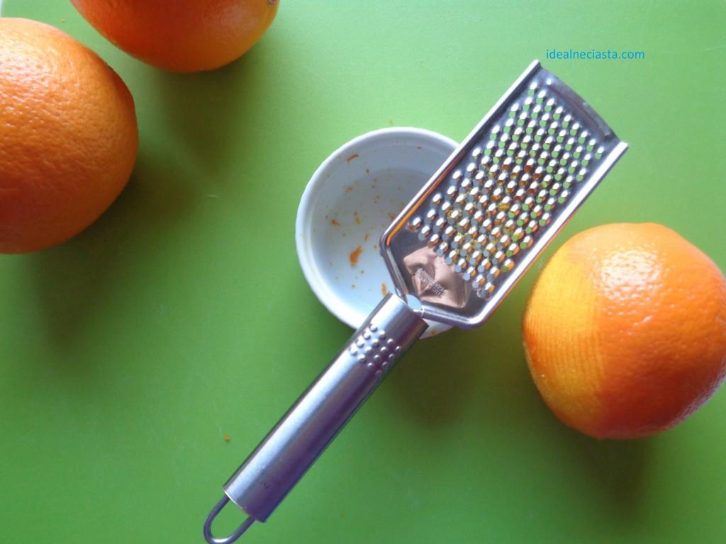 tort bezowy przygotowanie pomarańczowego kremu