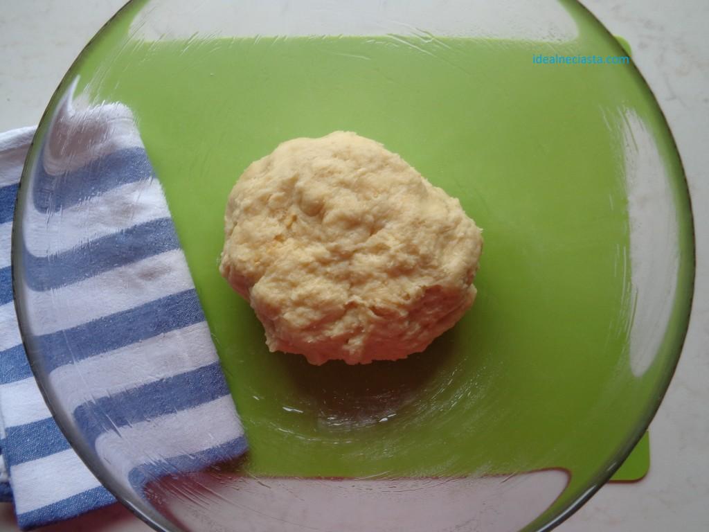 ciasto na paczki pieczone przed wyrastaniem