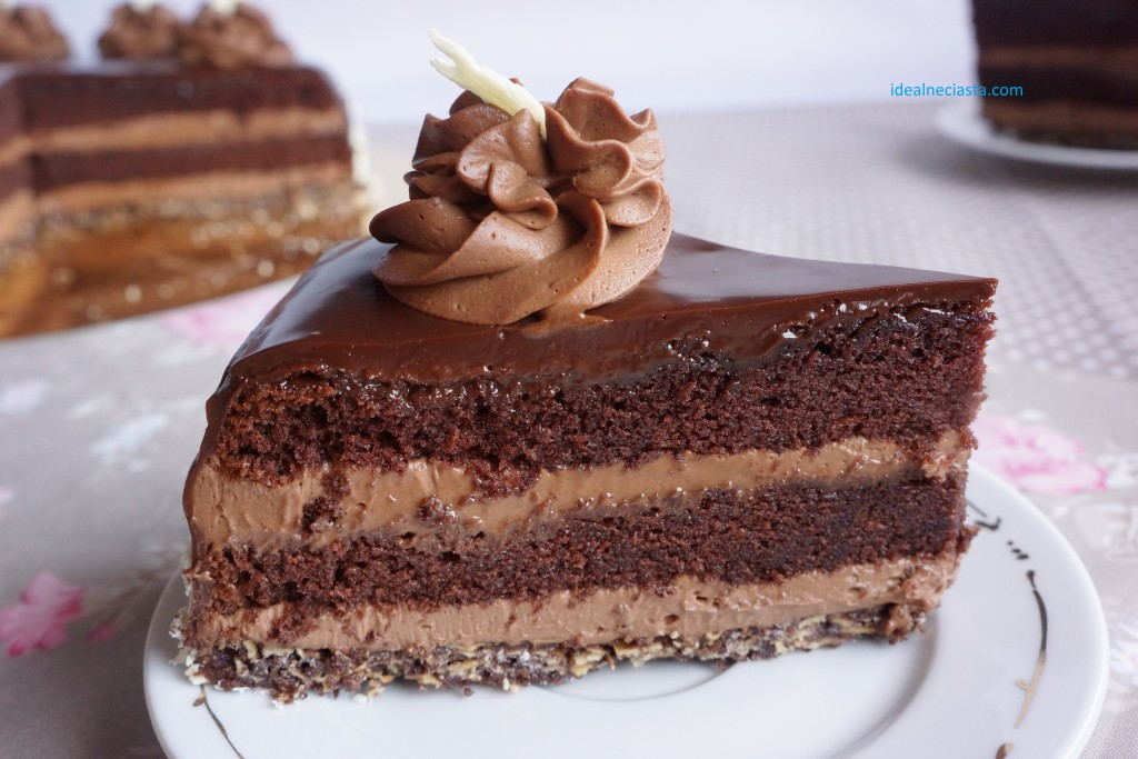 kawalek tortu czekoladowego