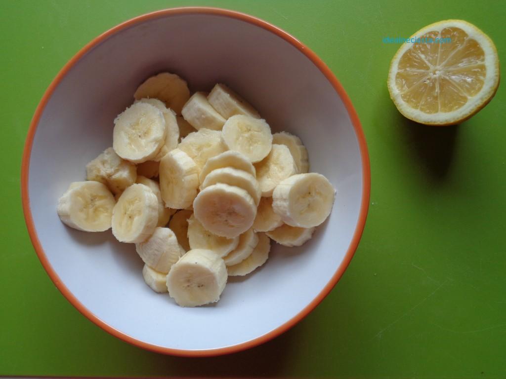 pokrojone banany