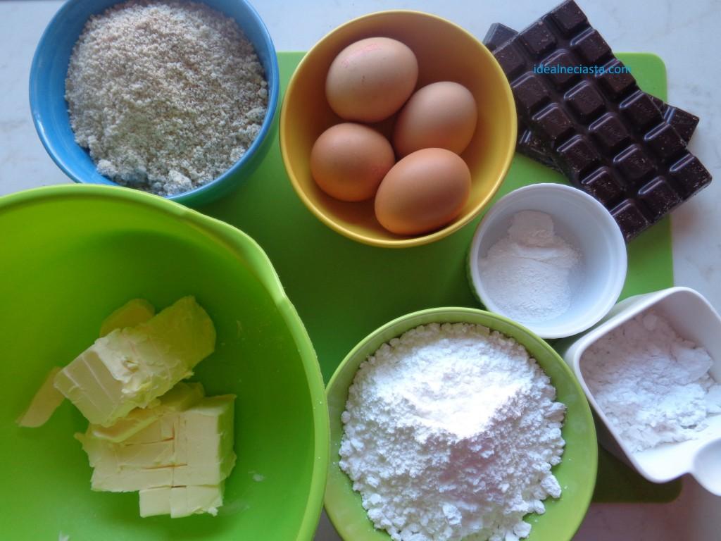 skladniki babki czekoladowo orzechowej