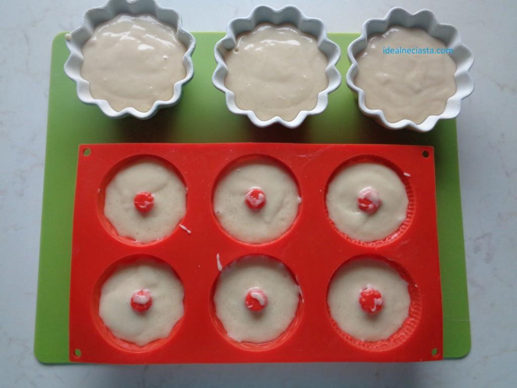 babeczki przed pieczeniem