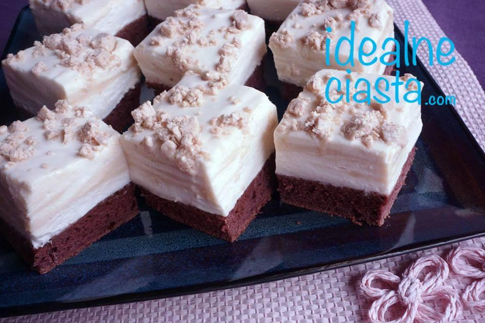 ciasto czekoladowo chalwowe