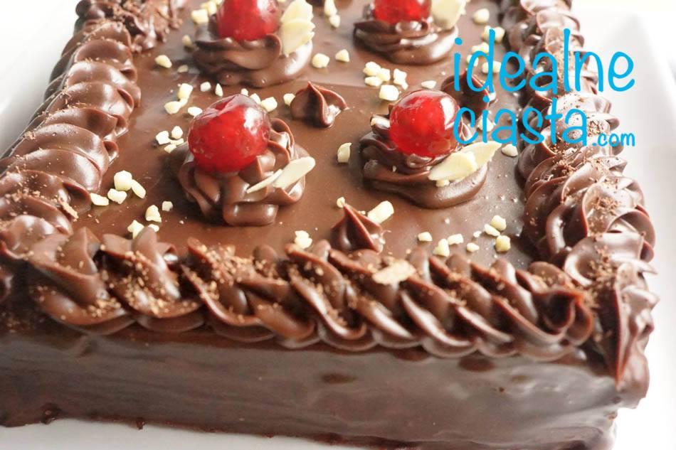 mazurek czekoladowy bezglutenowy