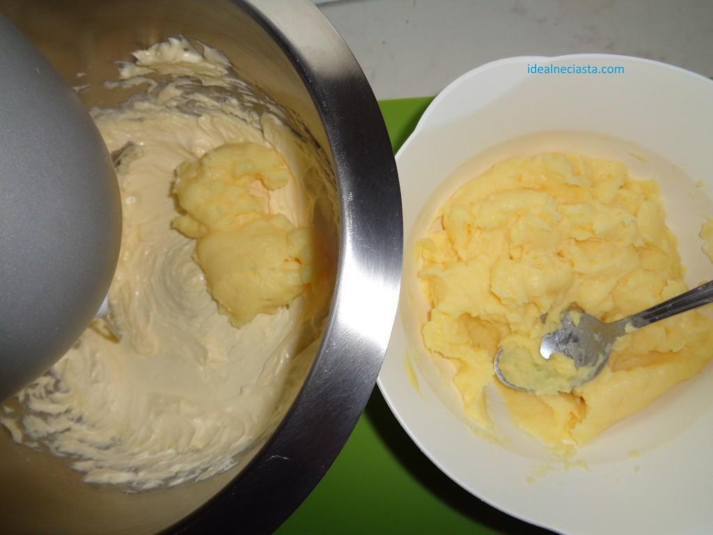 miskowanie masla z budyniem