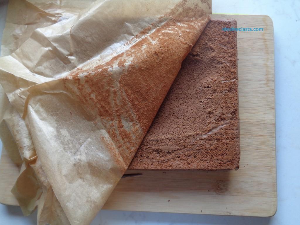 studzenie ciasta czekoladowego
