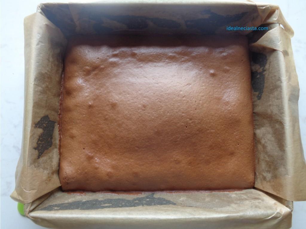 upieczone ciasto czekoladowe