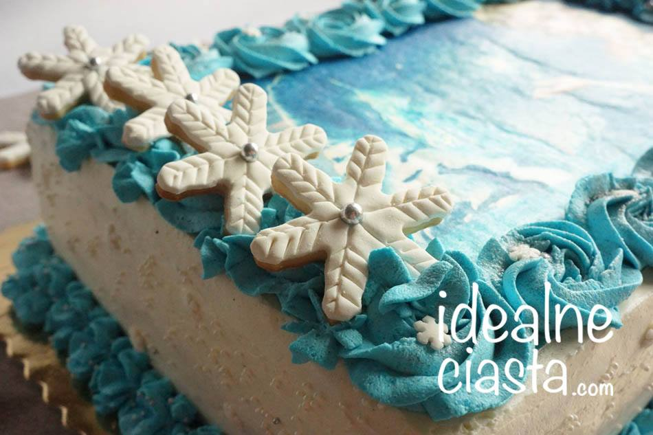 tort z oplatkiem gora