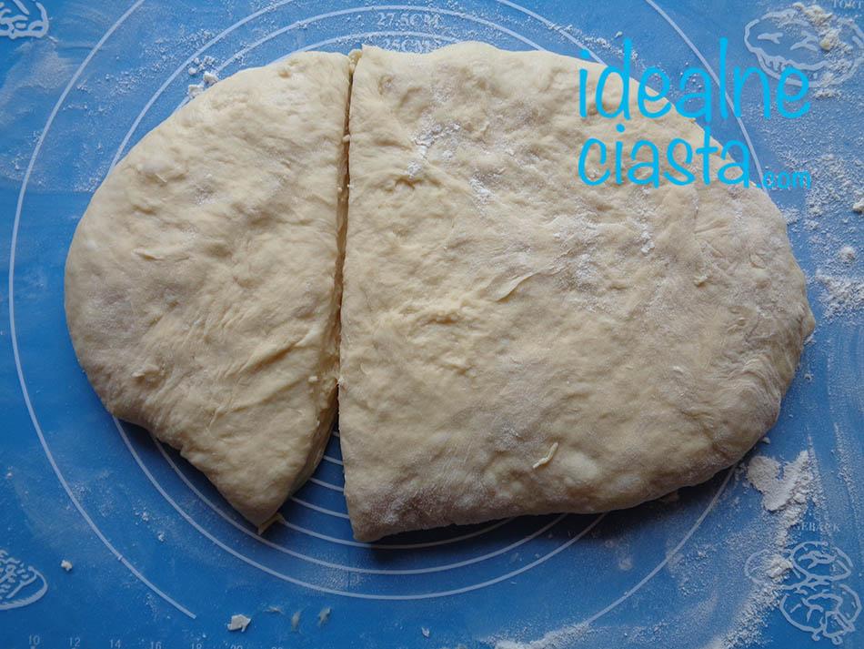 wyrobione ciasto