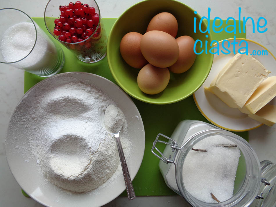 skladniki ciasta