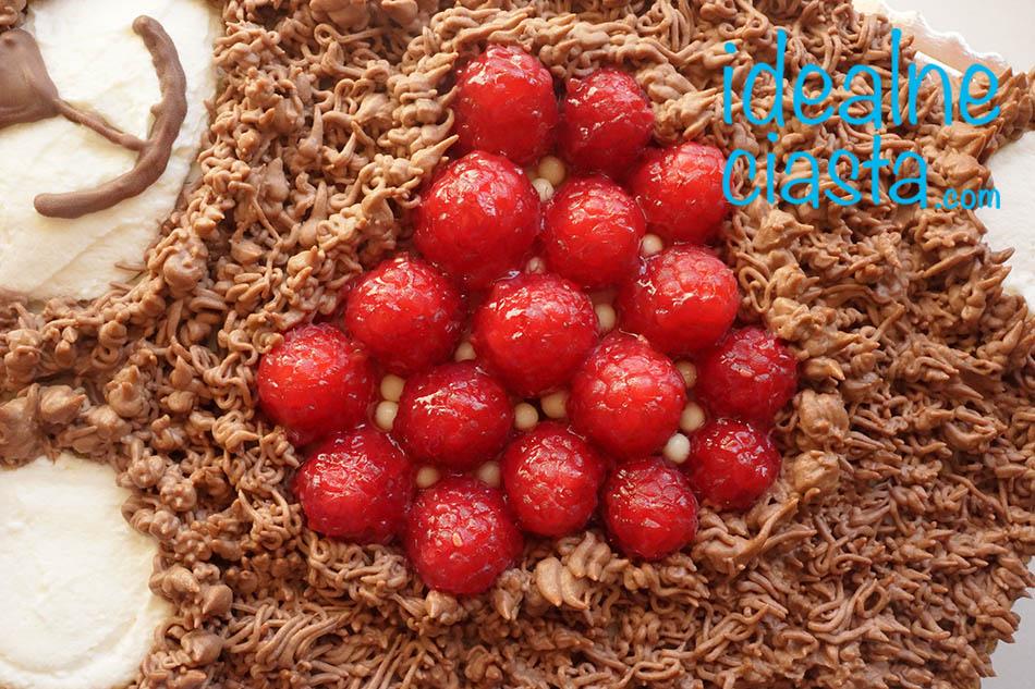 tort dla dzieci do przedszkola w ksztalcie misia
