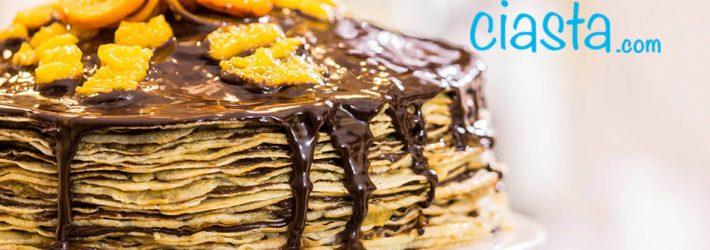 tort nalesnikowy czekoladowo pomaranczowy