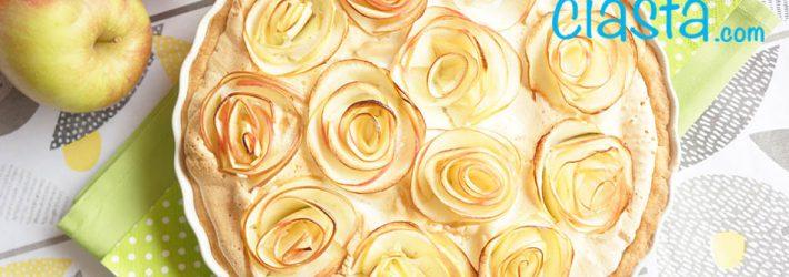 jablecznik z jablkowymi rozami