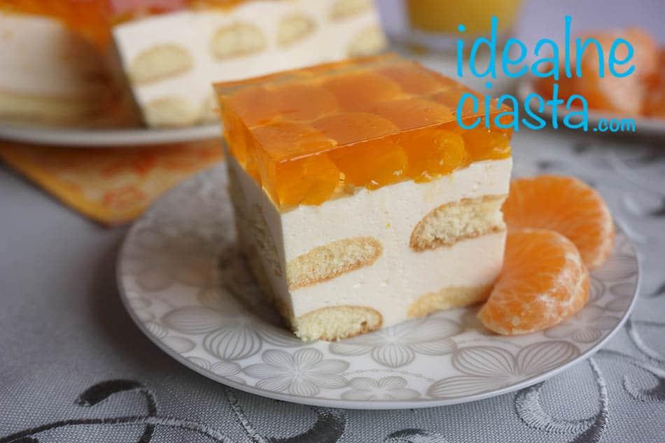 pianka sernikowa z mandarynkami