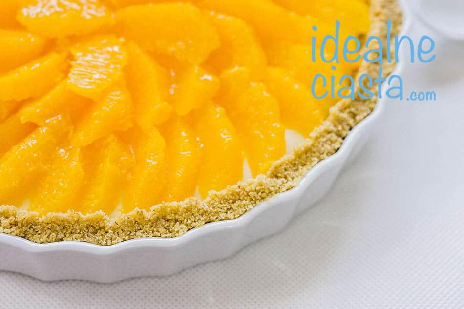tarta pomaranczowa bez pieczenia