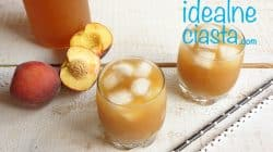 brzoskwiniowa ice tea