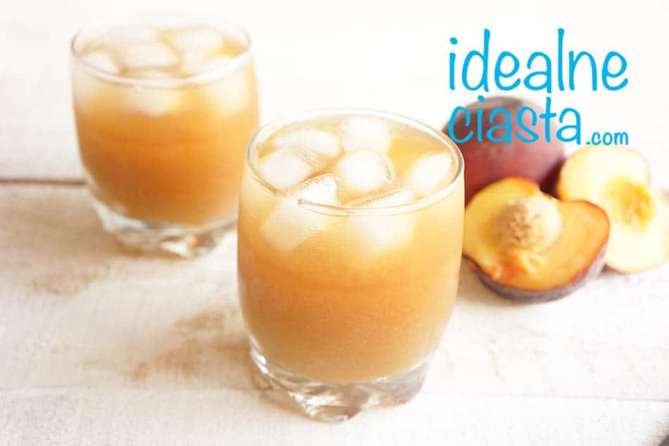 brzoskwiniowa ice tea przepis