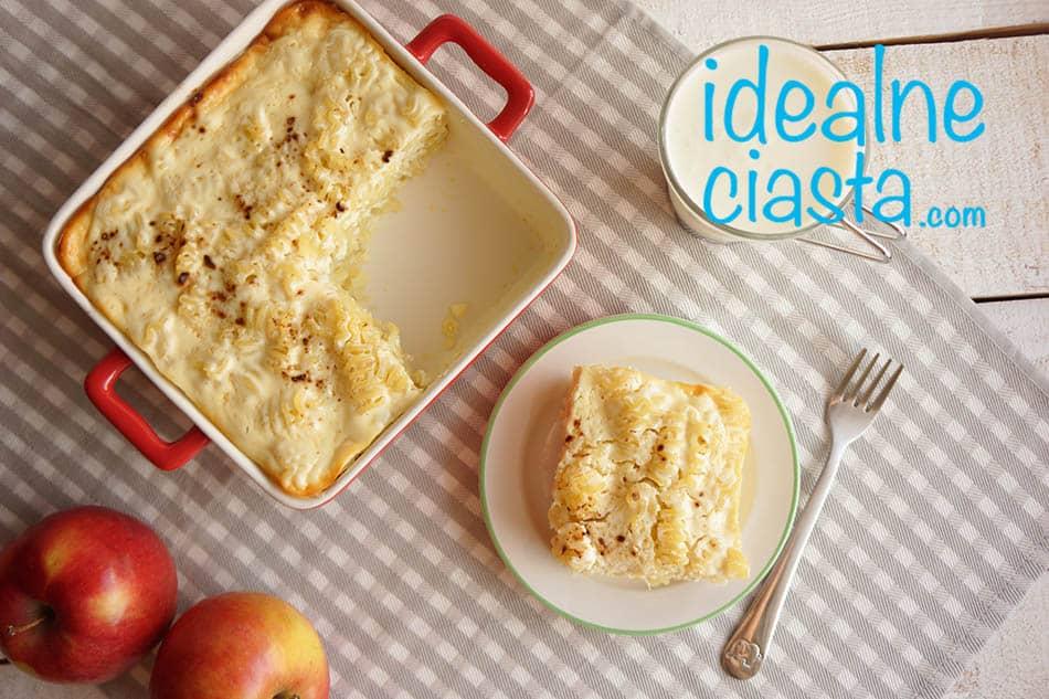 zapiekanka z sera i makaronu