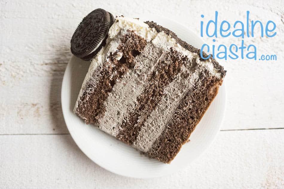 tort o smaku oreo