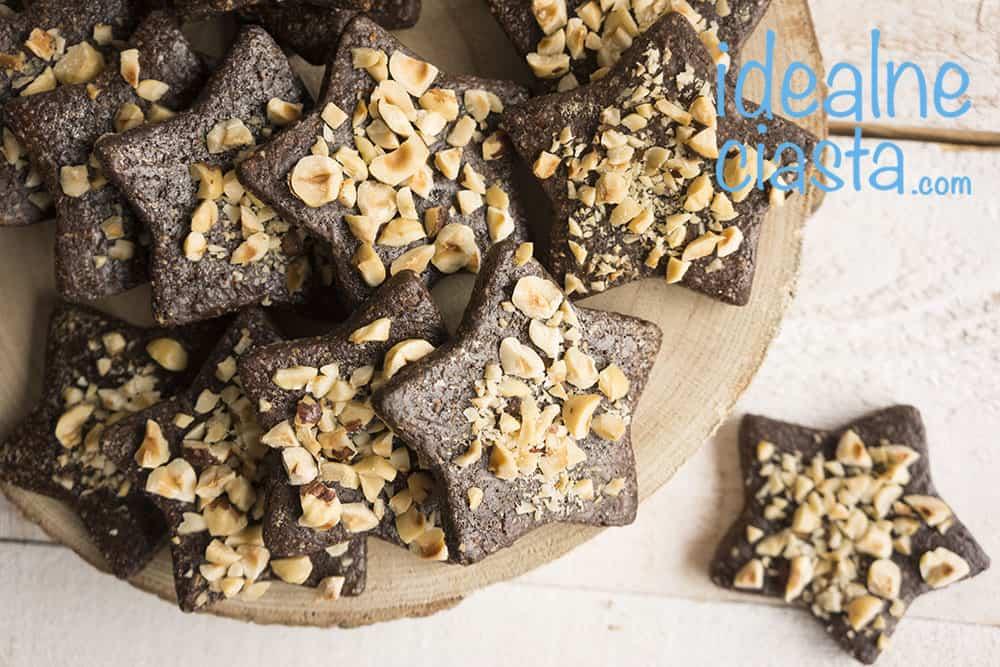 kakaowe ciasteczka z orzechami
