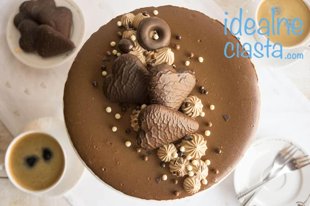 sernik czekoladowy pieczony