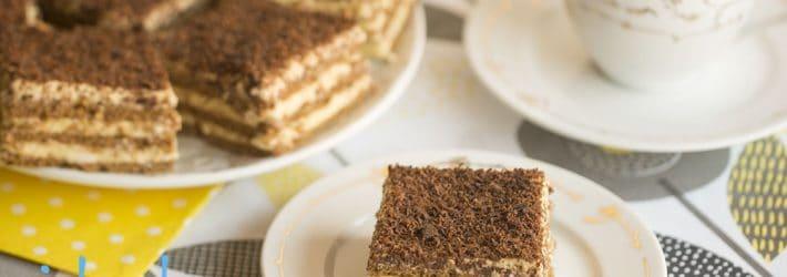 ciasto z kremem ajerkoniakowym
