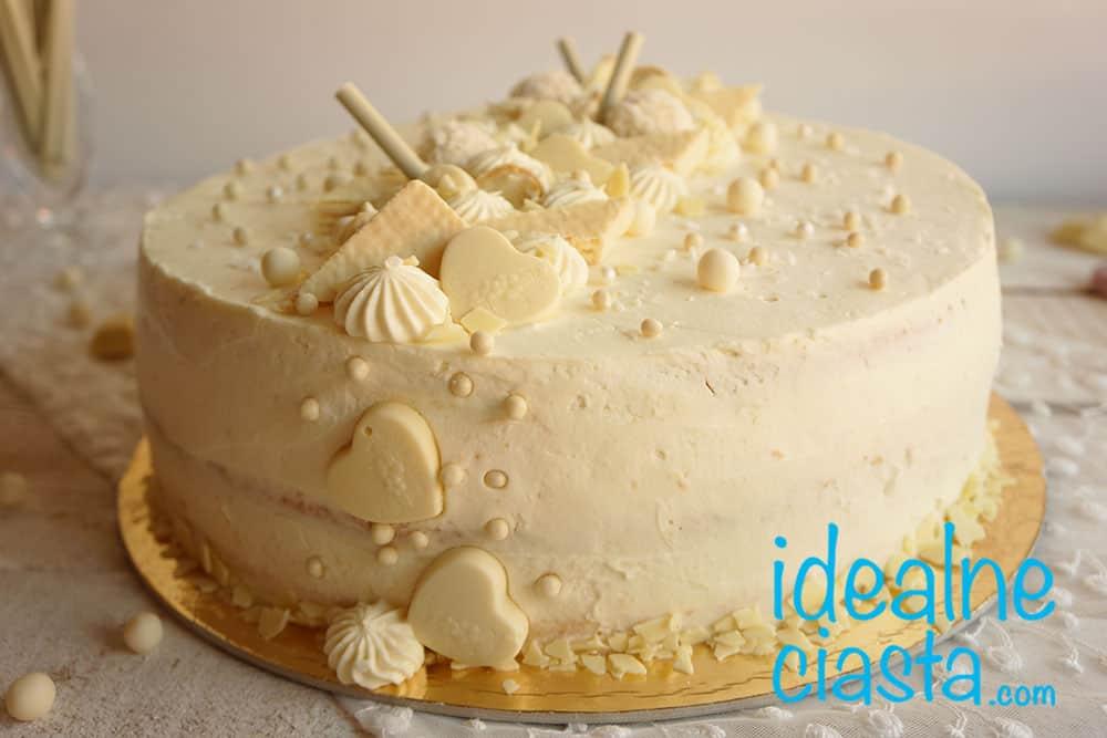 elegancki tort na impreze