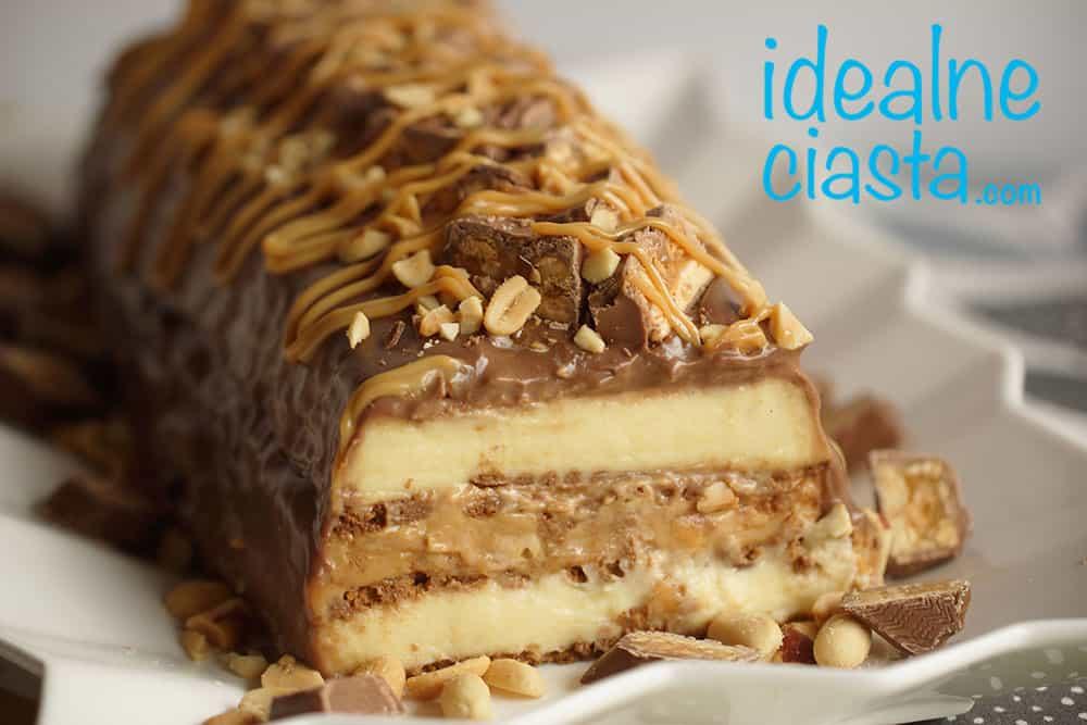 ciasto snikers najlepszy przepis