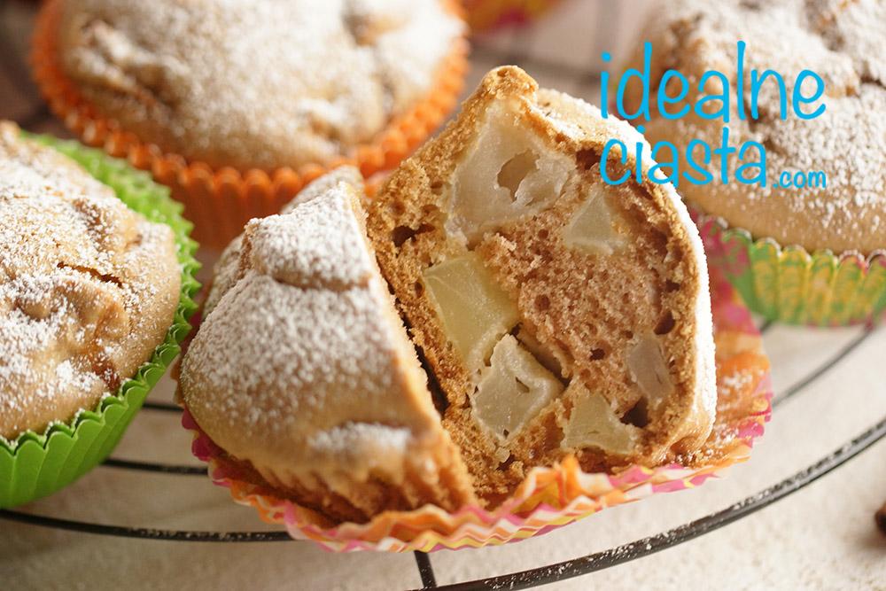 muffinki z jablkami przepis