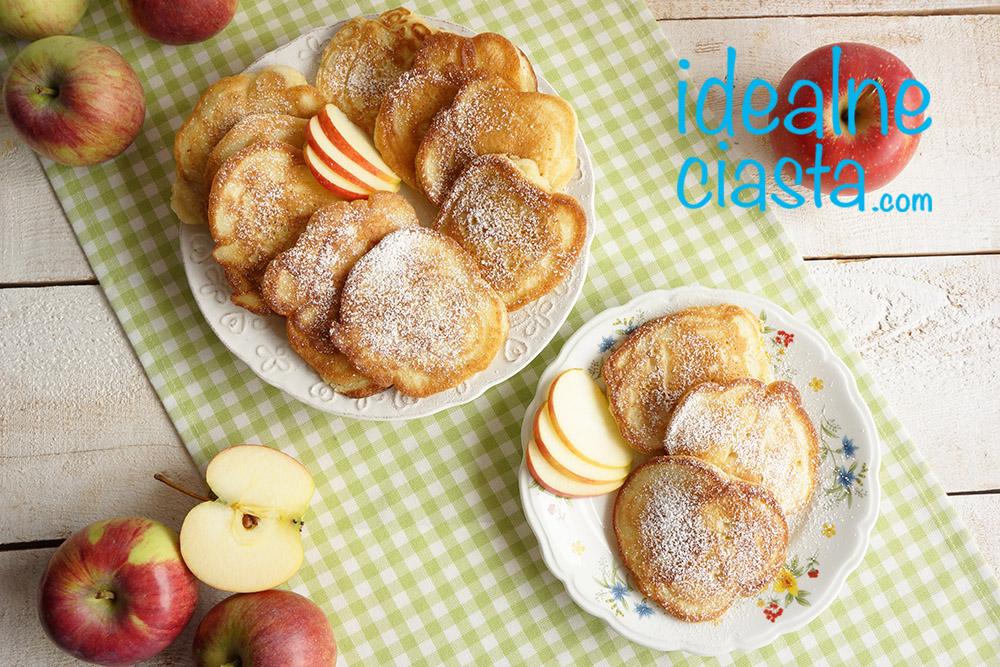 szybkie racuchy z jablkami przepis