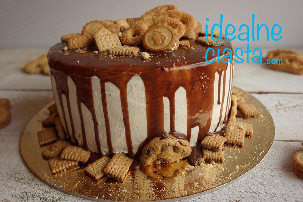 tort z polewa czekoladowa