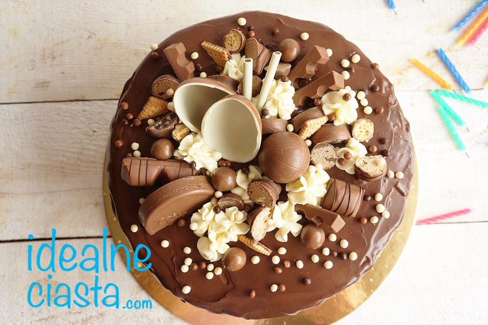 tort czekoladowy dla dzieci