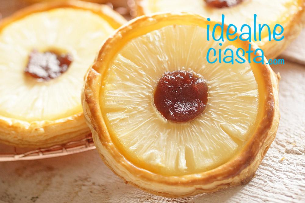 ciastka z ananasem przepis