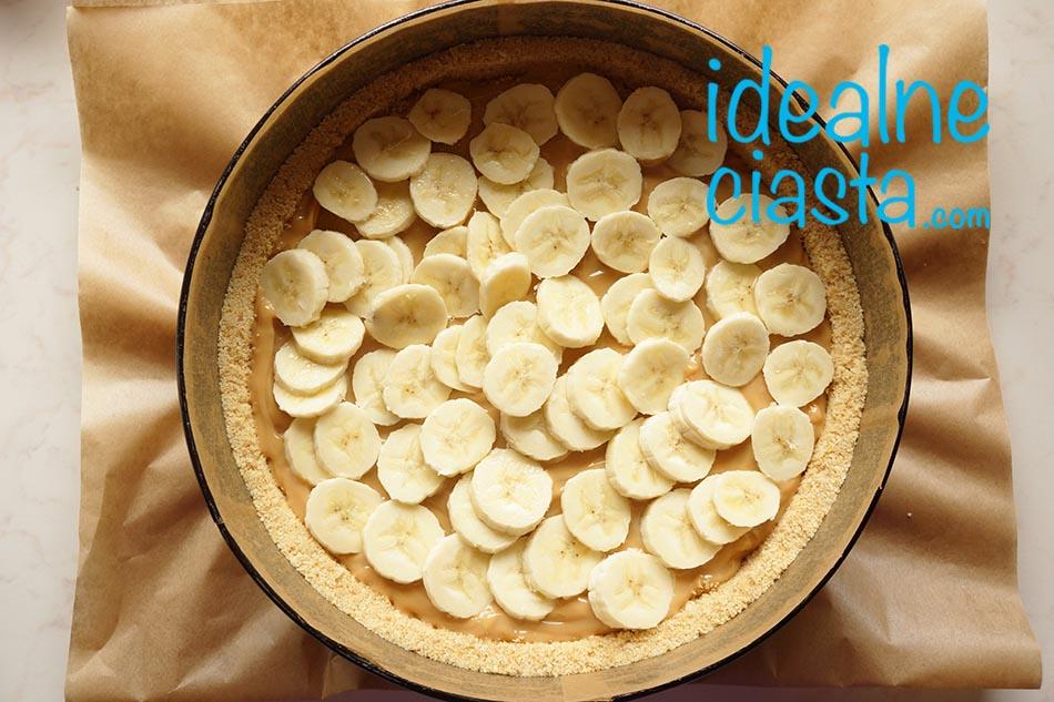 jak zrobic ciasto z bananami bez pieczenia