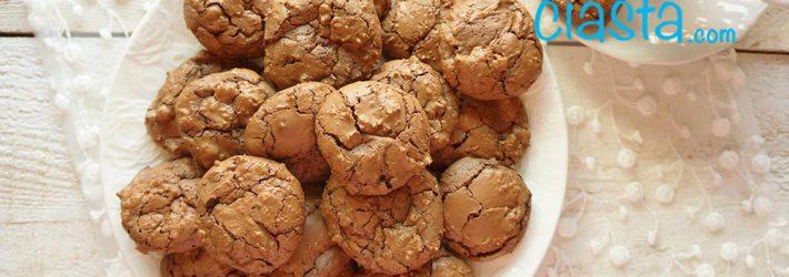 ciasteczka czekoladowe brownie