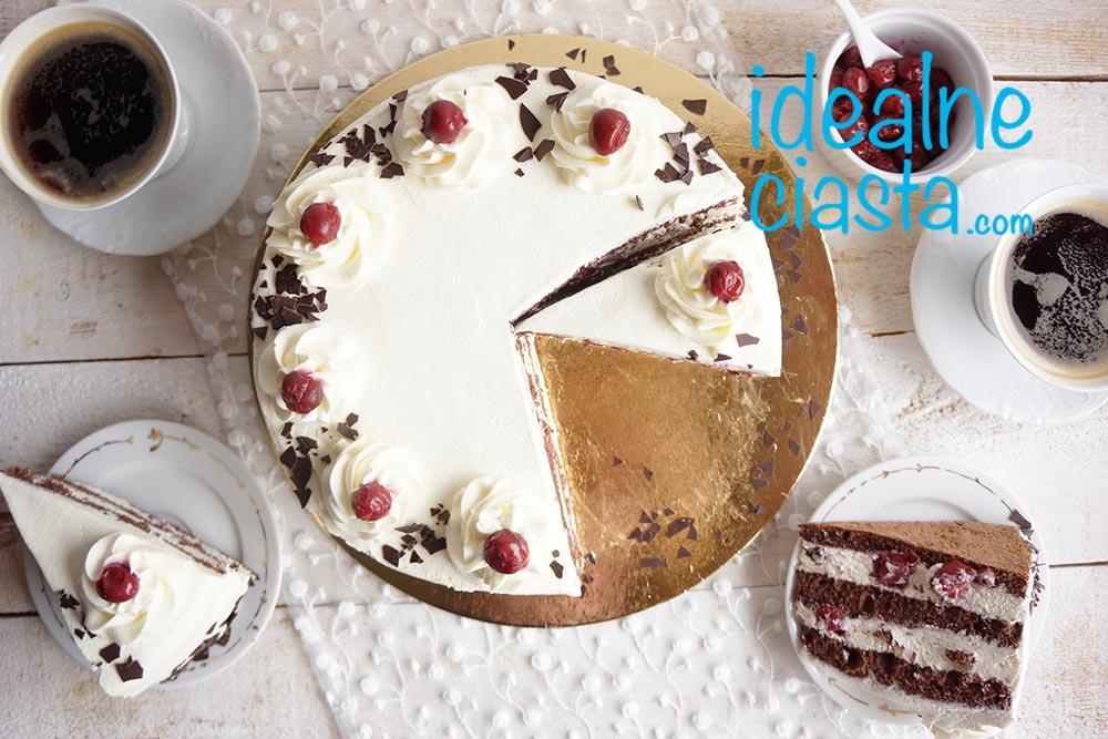 tort z wisniami przepis