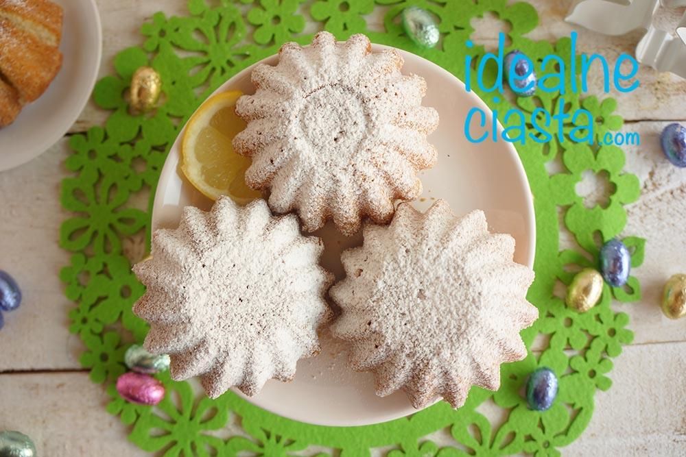 wilgotne babeczki cytrynowe