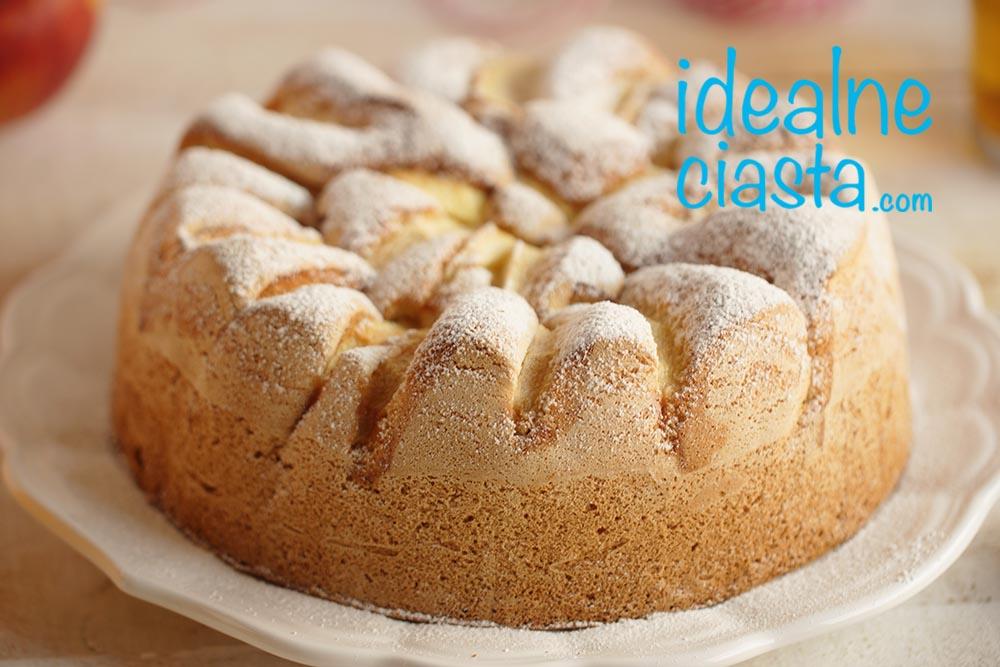 proste ciasto z jablkami przepis