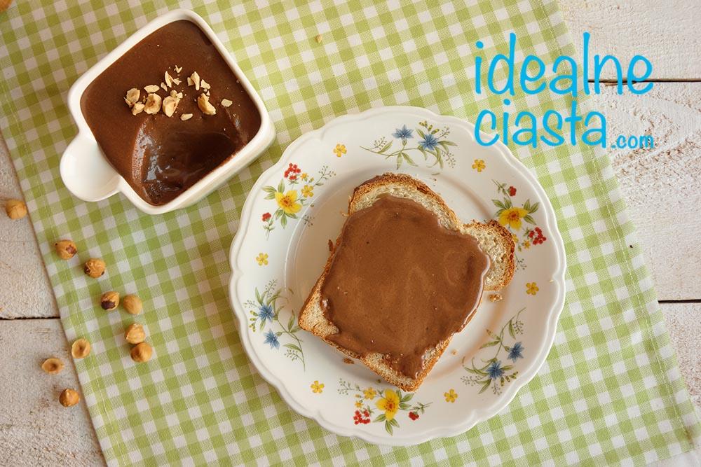 domowy krem czekoladowo-orzechowy