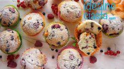 muffinki jogurtowe z owocami