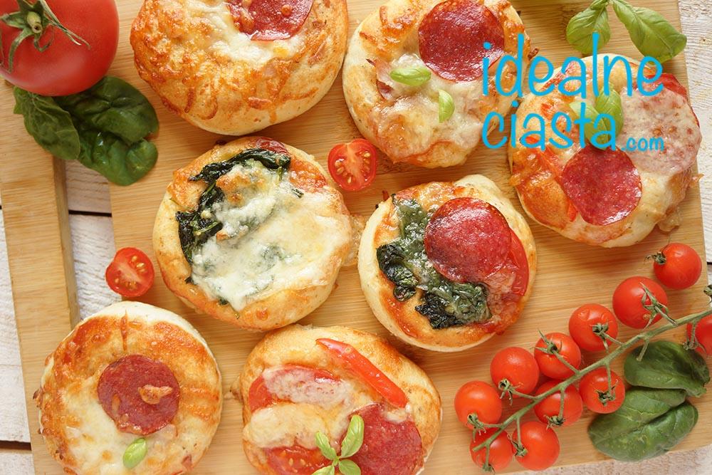 pizzerinki - drozdzowki ala pizza